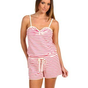 NWT Juicy Couture Terrycloth Striped Women's Rompe